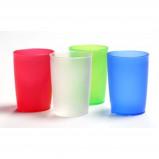 Afbeelding van Adhome Eenvoudige drinkbeker van Melamine 250 ml groen transparant