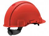 Afbeelding van 3M Peltor G3000 Veiligheidshelm met draaiknop Rood