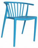 Afbeelding van Dimehouse Tuinstoel modern Nour blauw