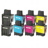 Afbeelding van Geschikt 2x Brother LC 900 XL Multipack (inktcartridges) Alleeninkt