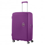 Afbeelding van American Tourister Soundbox Spinner 77 Exp. Purple Orchid Harde Koffers