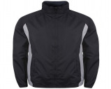 Image of Airosportswear Tracksuit Top/ Shower Jackets Navy/Sky