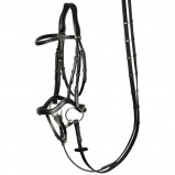 Image of Harry's Horse Anatomic bridle (Colour: black, Tailored horse: full)