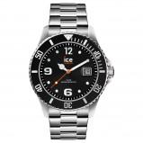 Afbeelding van ICE Watch IW016032 Steel Black Silver horloge 44 mm herenhorloge Zilverkleur