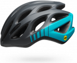 Afbeelding van Bell Draft fietshelm (Kleur: turquoise/grijs)