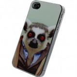 Afbeelding van Apple iPhone 4/4S telefoonhoes Funny Lemur Xccess