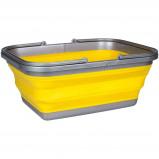 Afbeelding van Abbey Camp afwasteil opvouwbaar 16 liter geel
