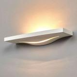 Afbeelding van Aantrekkelijke wanduplight Lilia uit gips, Lampenwelt.com, voor hal, gips, metaal, G9, 35 W, energie efficiëntie: A++, B: 36.5 cm, H: 5 cm