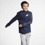 Image of Nike Sportswear Kids' Full Zip Hoodie Blue