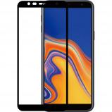 Afbeelding van Azuri Temperood Glass flat RINOX ARMOR voor Samsung J4 Plus zwart