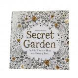 Εικόνα του (1 = 24 Pages) English Wallpaper Secret Garden English Version Children Adult Easy Pressure Flower Time Painting Books