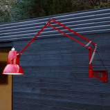 Afbeelding van Anglepoise anglepoise® Original 1227 Giant IP65 wandlamp rood, staal, aluminium, E27, 13 W, energie efficiëntie: A+