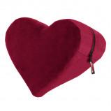 Afbeelding van Heart Wedge Positiekussen Merlot Positie Riemen