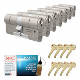 Afbeelding van Cilinderslot M&C Matrix SKG*** (7 stuks)