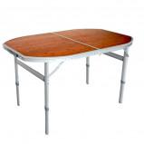 Afbeelding van Defa Bamboe opvouwbare camping tafel