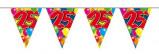 Afbeelding van Amigo Vlaggenlijn ballonnen: 25 jaar 10 meter
