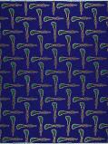 Zdjęcie Vlisco VL00990.078.04 Blue African print fabric Limited Editions Geometrical