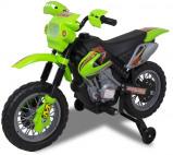 Afbeelding van Elektrische crossmotor groen