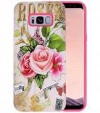 Afbeelding van 3D Print Hard Case voor Galaxy S8 Plus Roses
