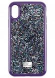 Afbeelding van Swarovski 5449517 Telefoonhoes met Bumper Glam Rock Purple voor iPhone X/XS*