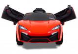 """Afbeelding van Elektrische kinderauto """"Spider"""" rood"""