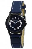 Afbeelding van Coolwatch CW.248 kinderhorloge 'Jort' canvas staal blauw zwart