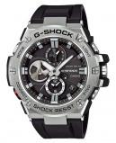 Afbeelding van Casio G Shock GST B100 1AER steel Bluetooth Triple Connect herenhorloge horloge Zilverkleur