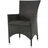 Afbeelding van Lugo terrasstoel zwart