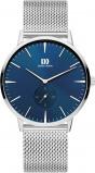 Afbeelding van Danish Design IQ68Q1250 herenhorloge blauw edelstaal