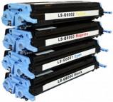 Afbeelding van HP 124A Toners Huismerk Set 4 stuks Q6000a t/m Q6003A