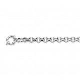 Afbeelding van Armband zilver jasseron schakel 8 mm 19 cm 104.0886.19