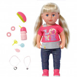 Image of Baby Born Interactive Sister Doll