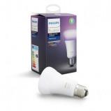 Afbeelding van philips Hue White & Color Ambiance 9 W E27, kunststof, W, energie efficiëntie: A+, L: 11 cm