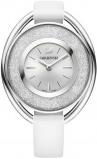 Afbeelding van Swarovski 5158548 Crystalline Oval White horloge dameshorloge Wit