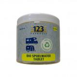 Afbeelding van 123 Products Bio Toilet Spoelwater Tabletten