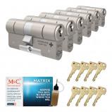 Afbeelding van Cilinderslot M&C Matrix SKG*** (6 stuks)