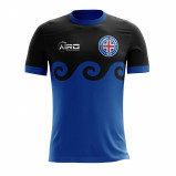 Image of 2017 2018 Iceland Third Concept Football Shirt