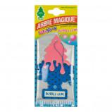 Afbeelding van Arbre Magique luchtverfrisser 12 x 7 cm Bubble Gum blauw/roze