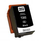 Afbeelding van Geschikt Epson 202XL inktcartridge zwart Alleeninkt