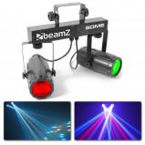 Afbeelding van BeamZ 2 Some Lichtset 2x 57 RGBW LED's met afstandsbediening