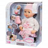 Afbeelding van Baby Annabell babypop Sweet dreams Mia 43 cm roze 3 delig