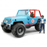 Afbeelding van Bruder Jeep Cross country terreinwagen met bestuurder 1:16 02541