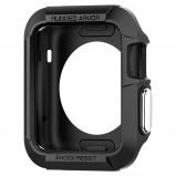 Abbildung von Apple Watch 42 mm: Spigen Rugged Armor Case Schwarz