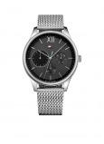Afbeelding van Tommy Hilfiger Horloge Damon staal zilverkleurig 44 mm TH1791415
