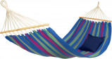 Image of Amazonas Aruba Spreader Bar Hammock (Colour: green/magenta/blue)