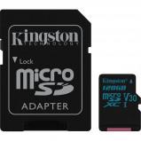 Afbeelding van Kingston microSDXC Canvas Go! 128GB 90 MB/s + SD Adapter