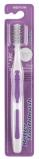 Afbeelding van better toothbrush Premium medium paars 1 stuk