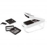 Afbeelding van Gusta Aanpasbare snijmachine wit en zwart 01152580