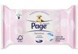 Afbeelding van Page Vochtig Toiletpapier Sensitive 38 stuks