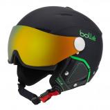 Afbeelding van Bollé Backline Visor Premium Helm Soft Black Green 54 56 Cm